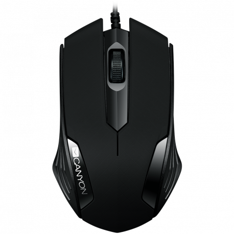 CANYON Optical wired mice 3 buttons DPI 1000 Black