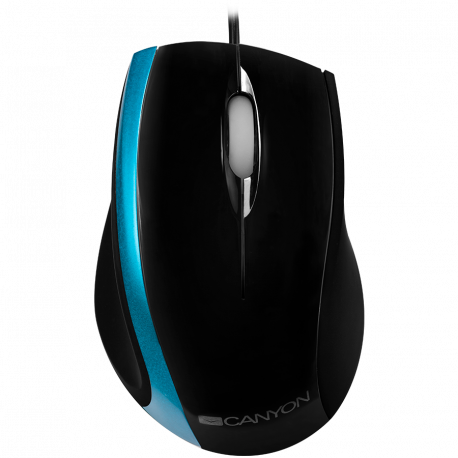 CANYON wired optical mouse with 3 buttons
