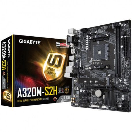 GIGABYTE Main Board Desktop AMD A320