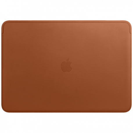 Leather Sleeve for 15-inch MacBook Pro – Saddle Brown