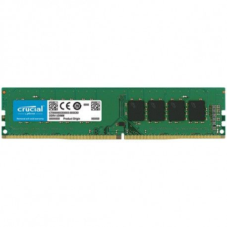 Crucial DRAM 4GB DDR4 2666 MT/s (PC4-21300) CL19 SR x8 UDIMM 288pin EAN: 649528785930