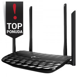 AC1200 Dual-Band Wi-Fi Router 867Mbps at 5GHz + 300Mbps at 2.4GHz 5 Gigabit Ports