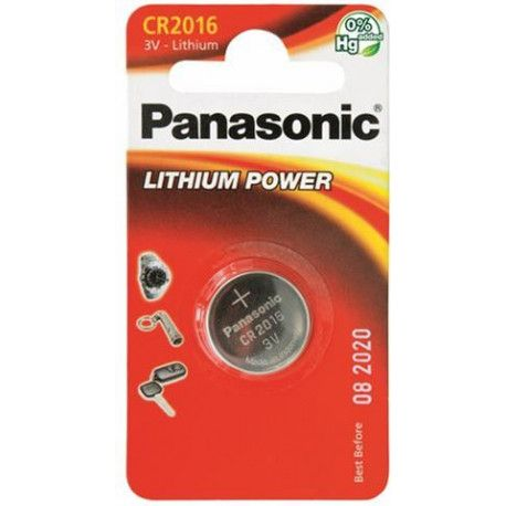 PANASONIC baterije male CR-2016EL/1B