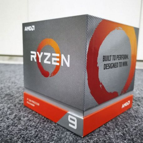 AMD CPU Desktop Ryzen 9 12C/24T 3900X (4.6GHz70MB105WAM4) box with Wraith Prism cooler
