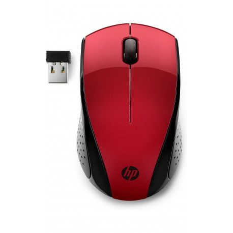 HP Wireless Mouse 220 red