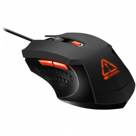 Optical Gaming Mouse with 6 programmable buttons Pixart optical sensor 4 levels of DPI and