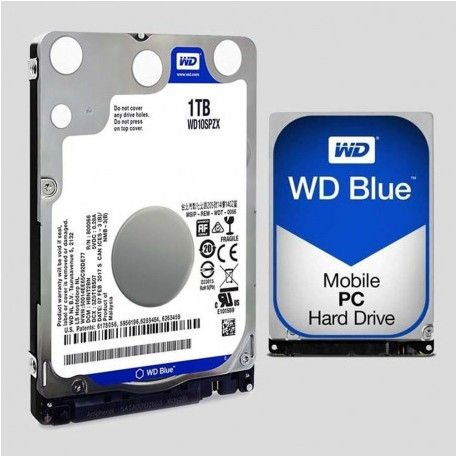 "WD HDD 1TB 2.5"" Blue 128MB"