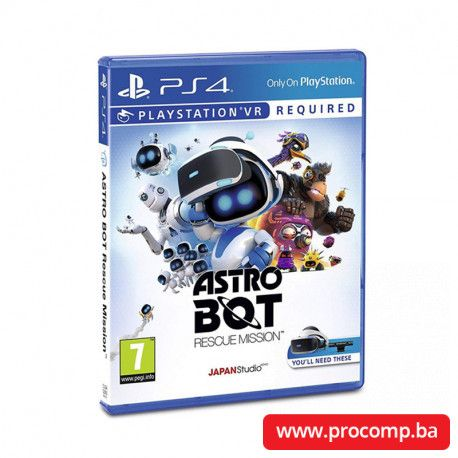PS4 game Astro Bot Rescue Mission VR