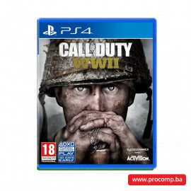 PS4 game Call of Duty: WWII Standard Edition