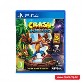PS4 Crash Bandicoot N. Sane Trilogy 2.0
