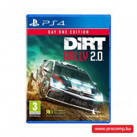 PS4 game DIRT Rally 2.0 Day One Edition