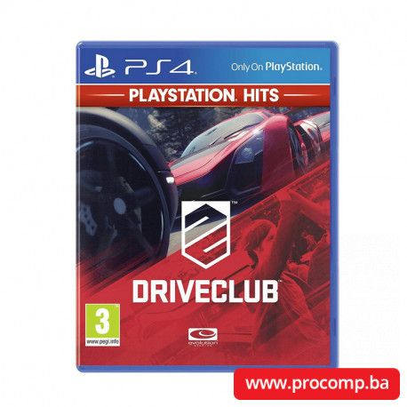 PS4 game Drive Club HITS