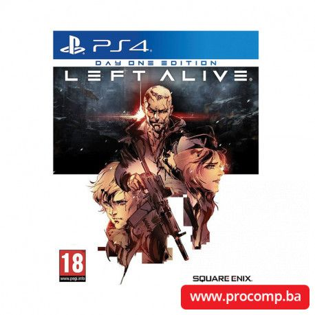 PS4 game Left Alive Day One Edition