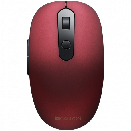 Canyon 2 in 1 Wireless optical mouse with 6 buttons DPI 800/1000/1200/1500 2 mode(BT/ 2.4GHz)