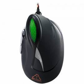 Wired Vertical Gaming Mouse with 7 programmable buttons Pixart optical sensor 6 levels of DPI