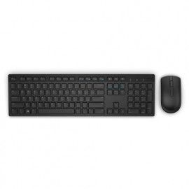 Dell Keyboard and Mouse Wireless KM636 Black UK (QWERTY)