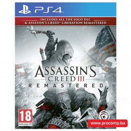 PS4 Assassin's Creed 3 & AC Liberation HD Remaster