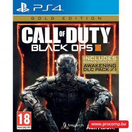 PS4 Call of Duty: Black Ops 3 Gold