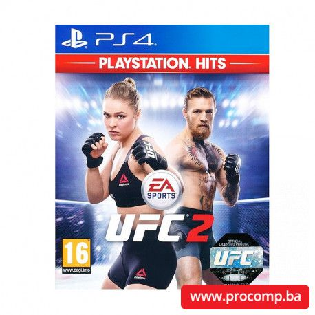 EA Sports UFC 2 Hits PS4