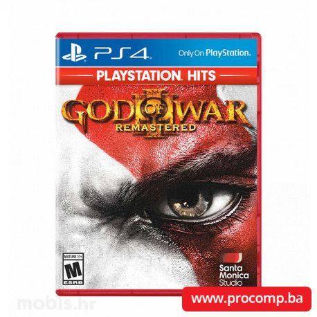 God of War 3 HITS PS4
