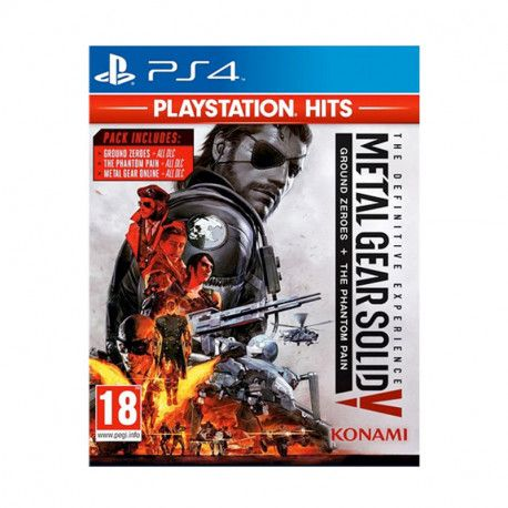 Metal Gear Solid Definitive Experience PS4