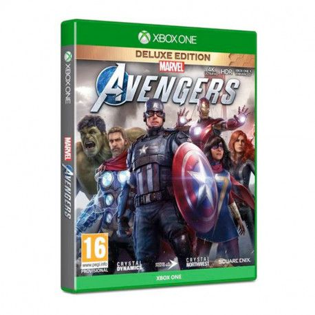 Marvel's Avengers Collectors Edition Earth's Mightiest Edition Xbox One