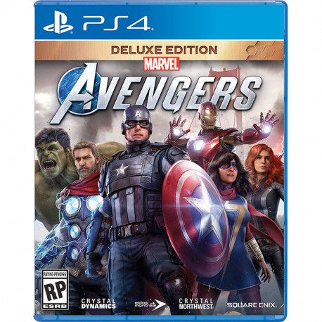 Marvel's Avengers Deluxe Edition Day 1 PS4
