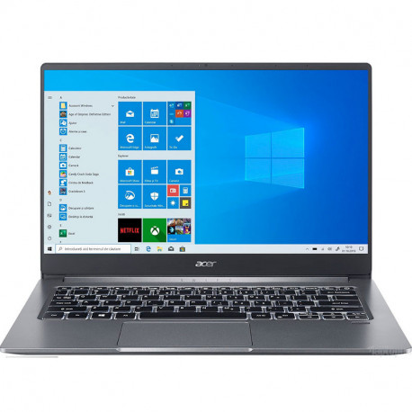 "Laptop ACER Swift 3 SF314-57-37FP, 14"" Full HD, Intel i3-1005G1, RAM 8GB, SSD 256GB"