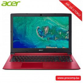 "Laptop Acer A315-53-32VY, 15.6"" HD, Intel i3 720U, RAM 8GB, SSD 512 GB"