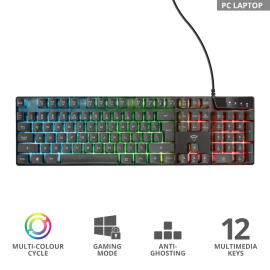 Gaming tastatura Trust GXT 835 Azor Illuminated
