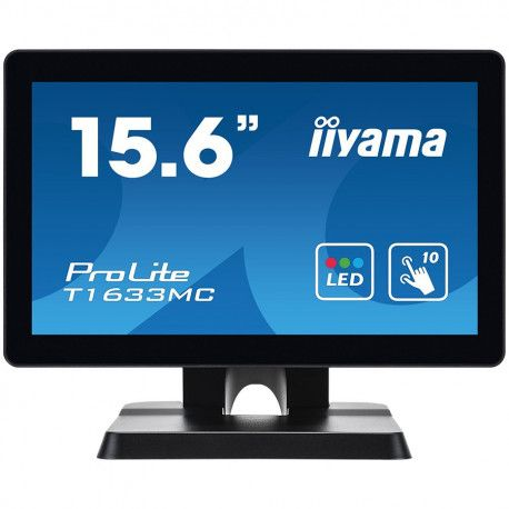 "IIYAMA TOUCH Monitor 15.6"" PCAP 1366x7681A1DP1H"
