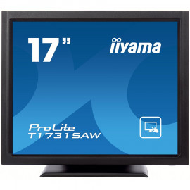 "IIYAMA TOUCH MONITOR T1731SAW-B5 17"" SAW Touch 1280x1024 1A1DP1H"