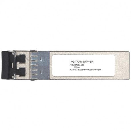 Fortinet 10GE SFP+ transceiver module short range for all systems with SFP+ and SFP/SFP+ slots
