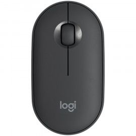 Miš LOGITECH Pebble M350 Wireless and Bluetooth Mouse – GRAPHITE