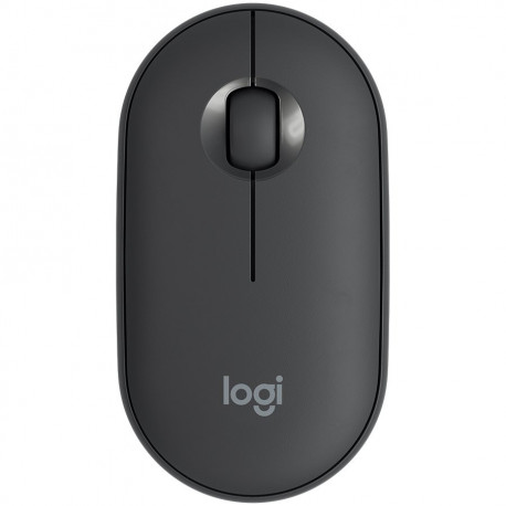 LOGITECH Pebble M350 Wireless and Bluetooth Mouse – GRAPHITE