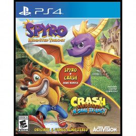 Crash Bandicoot N.Sane Trilogy + Spyro Reignited Trilogy bundle