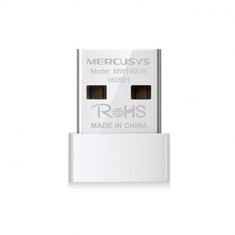 Wireless Nano USB Adapter Mercusys N150 Nano Size USB 2.0