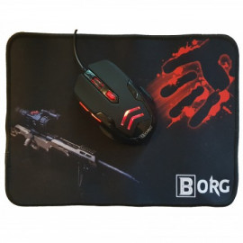 Gaming Miš i Podloga BORG MO016+P002
