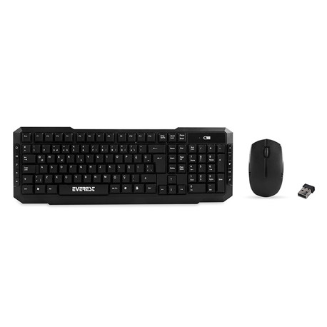 Everest Wireless set Tastatura+Miš KM-510