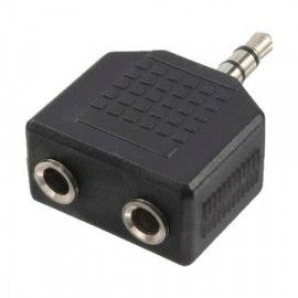 LogiLink Audio adapter 3.5mm to 2x3.5mm M/F CA1002