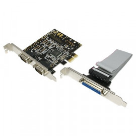 LogiLink PCI-E Card 1x Parallel + 2x Serial PC0033