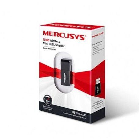 Mercusys MW300UM N300 Wireless Mini USB Adapter