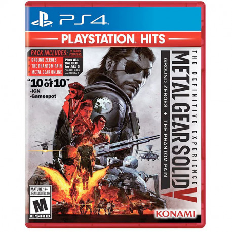 PS4 Metal Gear Solid Definitive Experience HITS