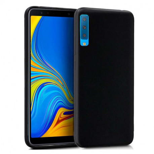 TPU Silikonska Maskica Samsung A7 2018 A750, Crna