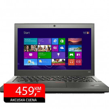 "Laptop Lenovo ThinkPad X240, 12.5"" HD, Intel i5-4300U, SSD 180GB"