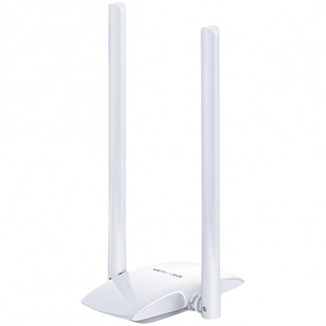 300Mbps high gain wireless N USB adapter two 5dBi high gain antennas flexible design with