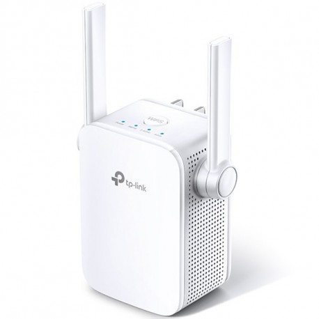 AC1200 Wi-Fi Range Extender Wall Plugged 867Mbps at 5GHz + 300Mbps at 2.4GHz 802.11ac/a/b/g/n