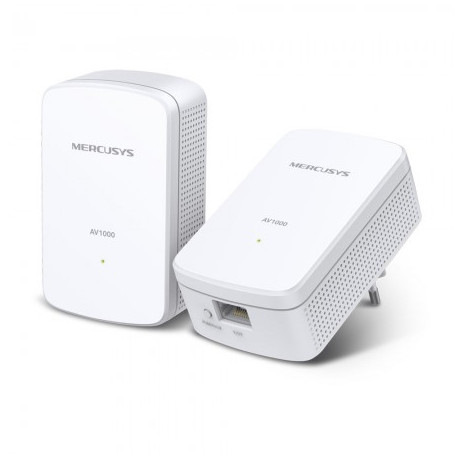 Mercusys MP500 AV1000 Gigabit Powerline Kit 1000 Mbps