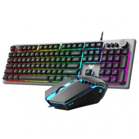 AULA T200 Gaming Keyboard Mouse Combo
