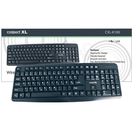 Connect XL Tastatura CXL-K100